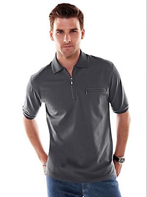 HAJO - Pflegeleichtes Polo-Shirt mit 1/2-Arm