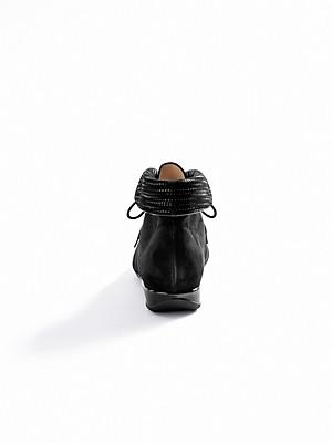 Hassia - Stiefelette aus hochwertigem Ziegenveloursleder