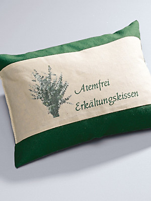 Himmelgrün - Atemfrei-Kissen, ca. 30x20cm