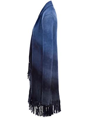 Inkadoro - Long-Strickjacke im Boho-Style