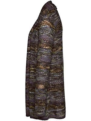 Inkadoro - Strickjacke aus reinem Alpaka