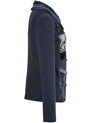 Just White - Blusen-Jacke mit Schalkragen