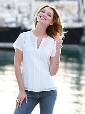 Just White - Blusen-Shirt