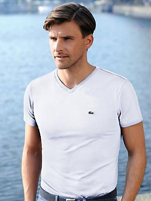 Lacoste - V-Shirt mit 1/2-Arm