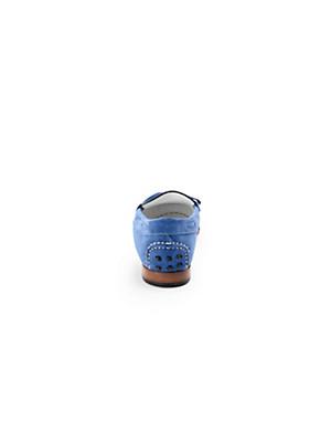 Ledoni - Mokassin aus softem Kalbsveloursleder