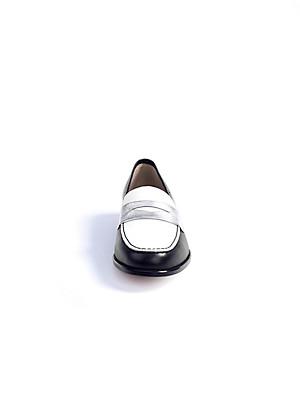 Ledoni - Slipper aus Kalbsnappaleder