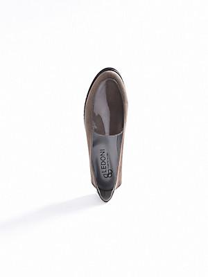 Ledoni - Slipper aus Ziegenveloursleder