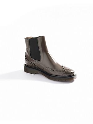 Ledoni - Stiefelette in hochwertigem Spazzolato-Leder