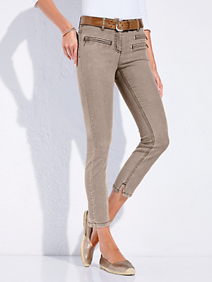 Looxent - 7/8-Jeans mit elastischem Formbund