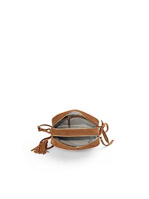 Looxent - Tasche aus Rindsveloursleder