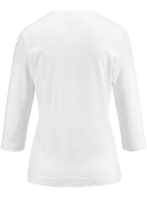 Münchner Manufaktur - Rundhals-Shirt mit 3/4-Arm