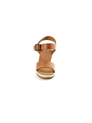 Paul Green - Sandalette aus feinem Kalbsnappaleder