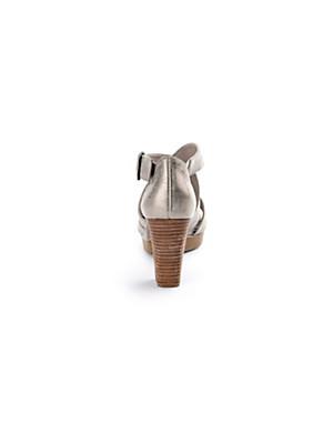 Paul Green - Sandalette aus Ziegennappaleder