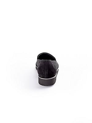 Paul Green - Slipper aus hochwertigem Kalbsveloursleder