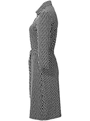 Peter Hahn - Jersey-Polokleid mit 3/4-Arm