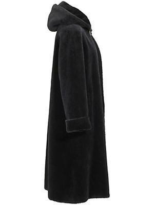 Peter Hahn - Kapuzen-Mantel aus federleichtem Brillant-Alpaka