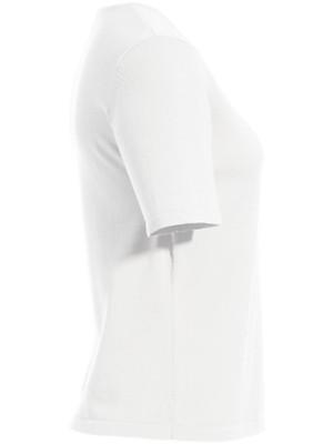 Peter Hahn - Komfortables Twinset mit geripptem Schalkragen