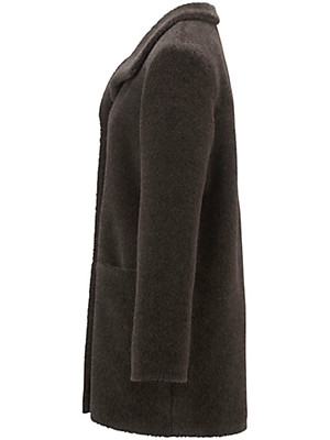 Peter Hahn - Long-Jacke aus Alpaka-Haar und Schurwolle