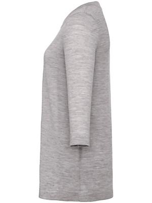 Peter Hahn - Long-Pullover aus 100% Schurwolle