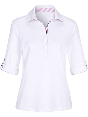 Peter Hahn - Polo-Shirt mit 3/4-Arm