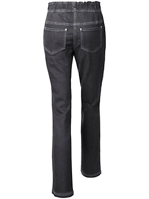 Peter Hahn - Schlupf-Jeans aus Sweat-Denim