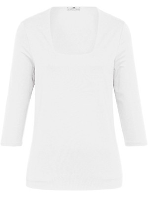 Peter Hahn - Shirt mit Karree-Ausschnitt