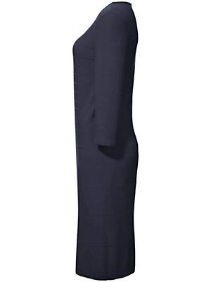 Peter Hahn - Strickkleid mit Rundhals-Ausschnitt und 3/4-Arm