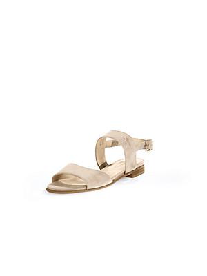 Sioux - Sandale aus weichem Ziegenveloursleder