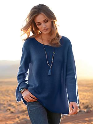 the lovely brand - Pullover mit 3/4-Arm aus 100% Kaschmir