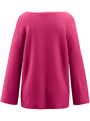 the lovely brand - Pullover mit 3/4-Arm aus 100% Kaschmir