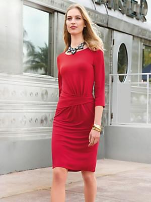 Uta Raasch - Jersey-Kleid mit 3/4-Arm