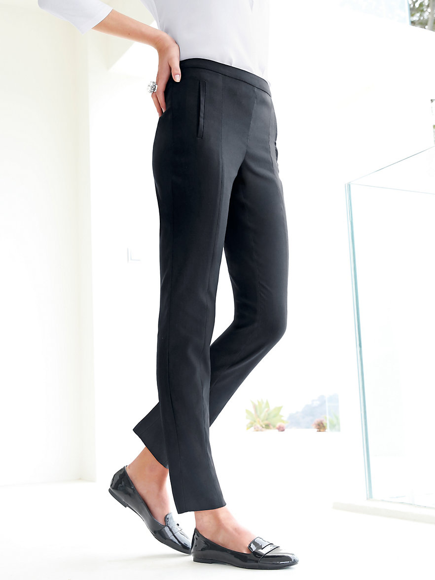 peter hahn le pantalon 7 8 noir. Black Bedroom Furniture Sets. Home Design Ideas