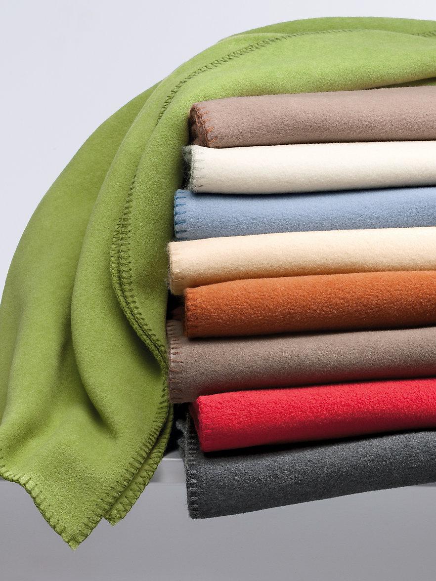 zoeppritz fleece decke ca 160x200cm kiwi. Black Bedroom Furniture Sets. Home Design Ideas