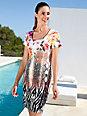 Charmor - Freizeit-Kleid  mit 1/4-Arm und Rundhals-Ausschnit