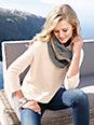 include - Pullover aus 100% Kaschmir und links-links Strick