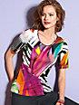 Looxent - Shirt in 1/2 Arm und tollem farbigem Druck