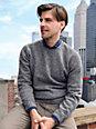 Peter Hahn - Rundhals-Pullover aus 100% Wolle