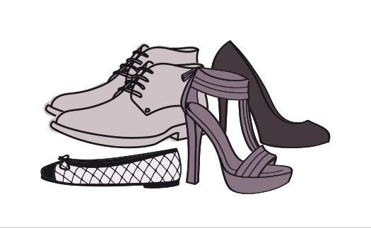 Tableaux de mensurations Chaussures