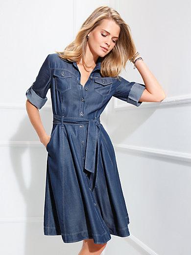 Basler - Kleid mit 3/4-Arm zum Krempeln