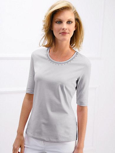 Basler - Rundhals-Shirt mit langem 1/2-Arm