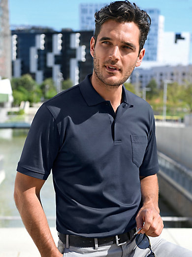 E.Muracchini - Polo-Shirt mit 1/2-Arm aus 100% Baumwolle