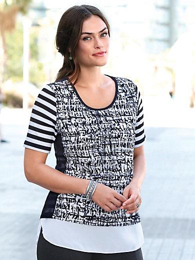 Emilia Lay - Rundhals-Shirt mit 1/2-Arm