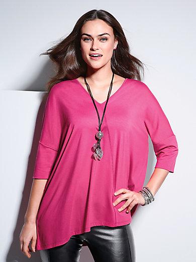 Emilia Lay - Shirt mit überschnittenem 3/4-Arm und V-Ausschnitt