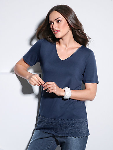 Emilia Lay - V-Shirt mit 1/2-Arm
