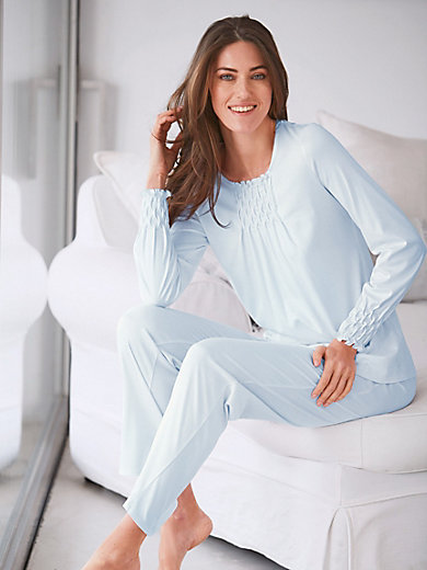 Féraud - Schlafanzug mit Smok-Partien