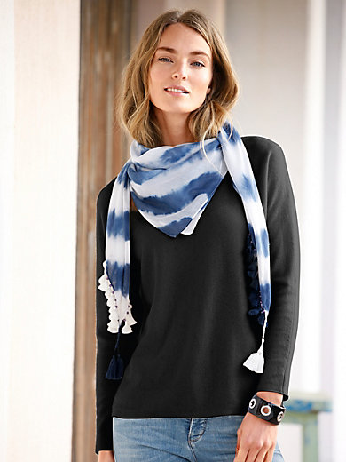 FLUFFY EARS - Pullover aus 100% Kaschmir mit Kimono-Ärmel