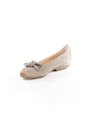 Kennel & Schmenger - Ballerina aus softem Kalbsnubukleder