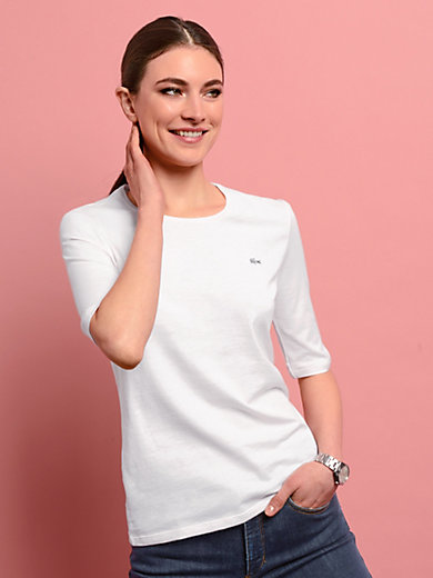 Lacoste - Rundhals-Shirt mit langem 1/2 Arm