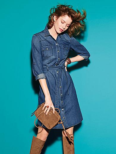 Looxent - Jeans-Kleid aus 100% Baumwolle