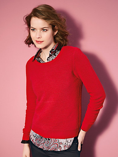 Looxent - Pullover im angesagten Stil mit feinen Strukturen
